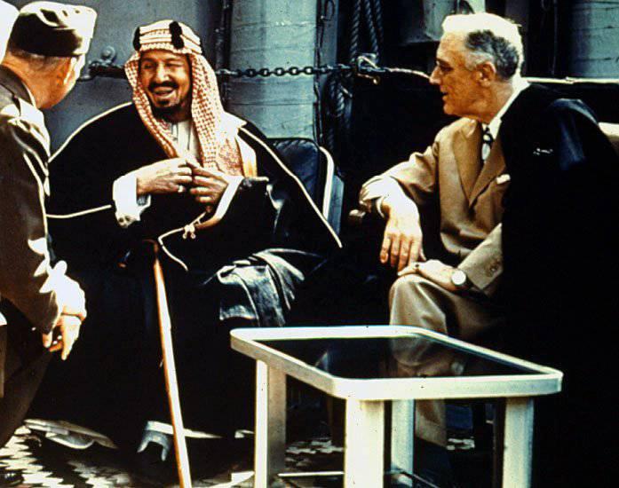 Саудовская Аравия против СССР и России