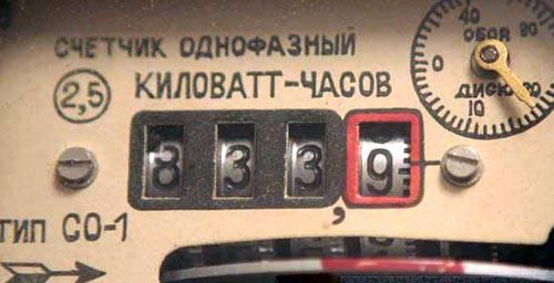 ...что срок поверки их счетчиков электроэнергии истек, и тем, кто не заменит прибор учета, расход электричества будут...