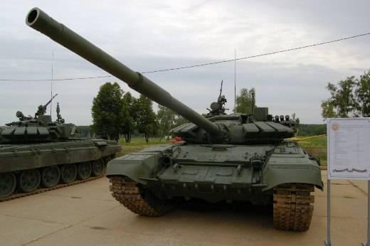 T-72B3 को अलाबिनो के टैंक बायथलॉन में अवर्गीकृत किया गया था