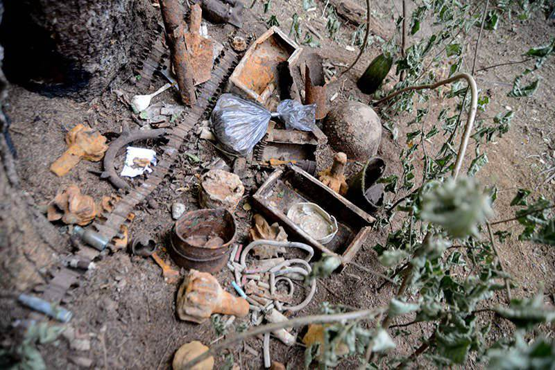 The remains of 260 soldiers found near Smolensk