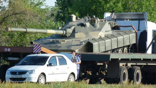 """The tests of the modernized version of the light tank for the airborne """"Sprut-SD"""" began"""