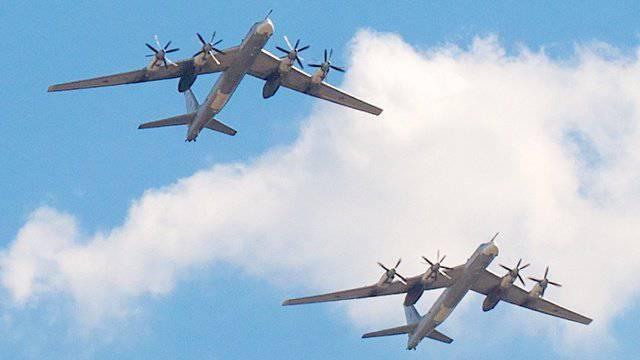 Mídia: bombardeiros russos violaram espaço aéreo japonês
