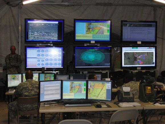 FBCB2 US tactical-level automated command and control system (part of 1)