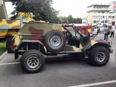 The experts of the Bauman University have developed a light assault vehicle for the armed forces.