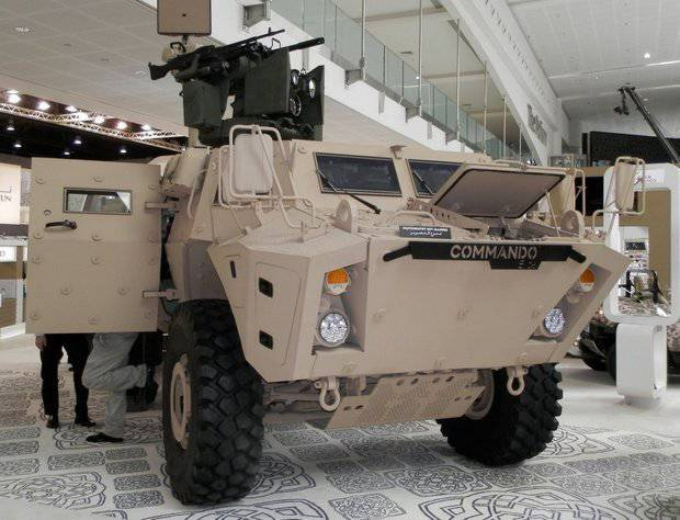 Textron will supply ground troops of Colombia 28 BTR COMMANDO