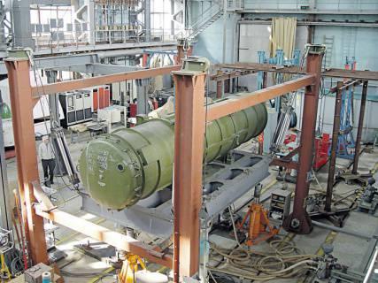 Seyir füzelerinin güvenilirliği yer testleriyle sağlanır.