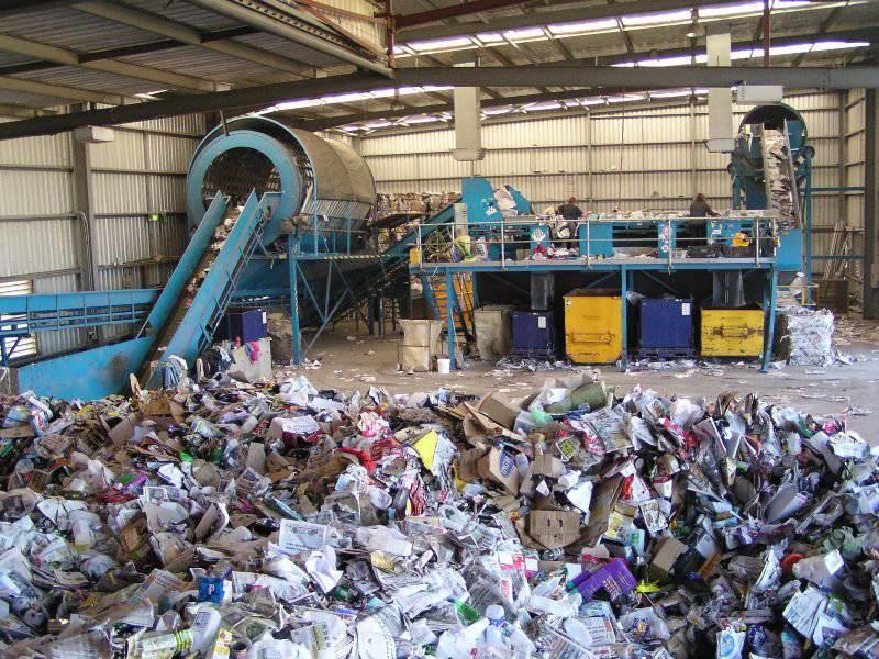 Переработка мусора в топливо