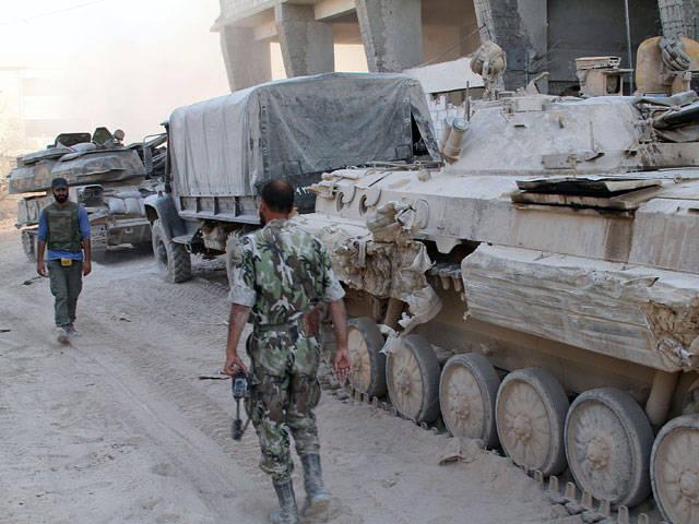 आने वाले दिनों में सीरियाई सैन्य अभियान शुरू हो सकता है