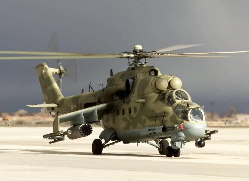Tashkent modernizza Mi-8 e Mi-24