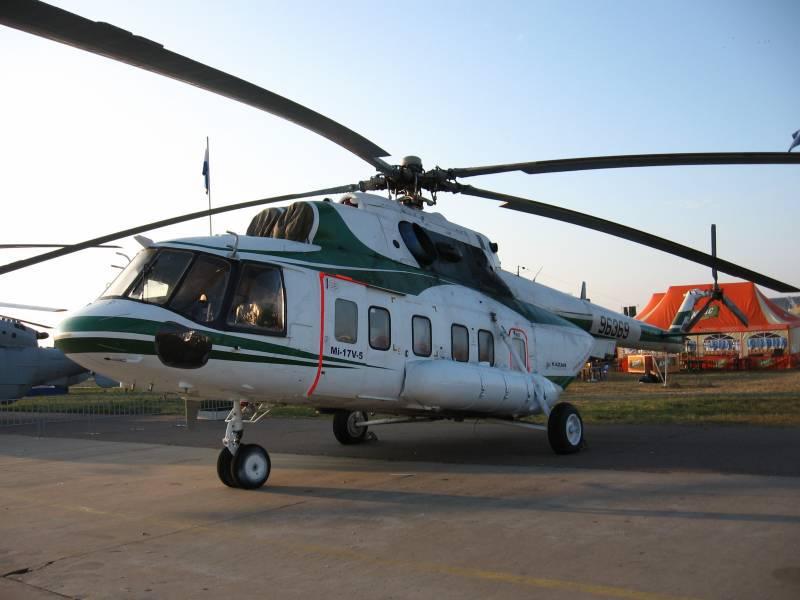 Russland wird Indien mit 67 Mi-17B-5-Hubschraubern beliefern