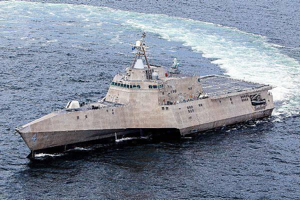 Marinha dos EUA concluiu testes de aceitação do próximo navio de guerra da zona costeira