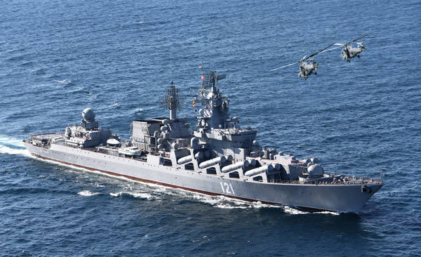 Russia strengthens the grouping of the Navy off the coast of Syria