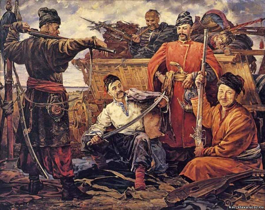 во сколько лет казаки уходили на службу