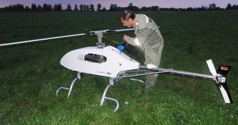 Belarusian design bureau presented a helicopter-type UAV - INDELA-IN.SKY