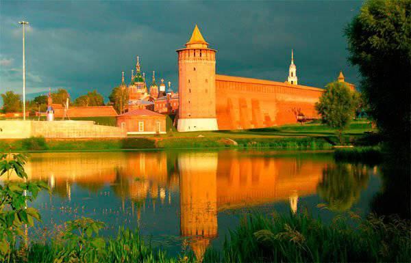 Kolomna Kremlin übernahm die Führung