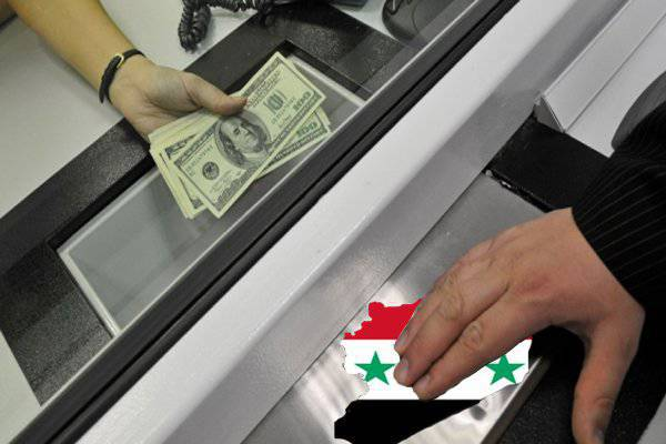 Syria in exchange for a surplus?