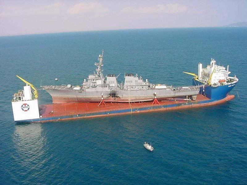 Destrucción Cole destructor: poder y vulnerabilidad de la Marina de los EE. UU.