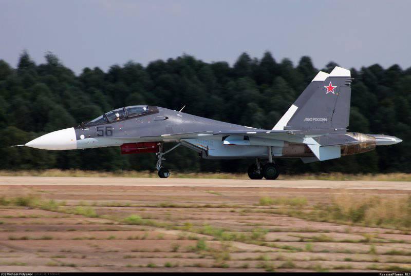 Еще один Су-30СМ