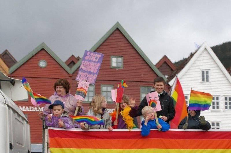 Норвегия - страна тотальной содомии, педофилии и ювенальной юстиции