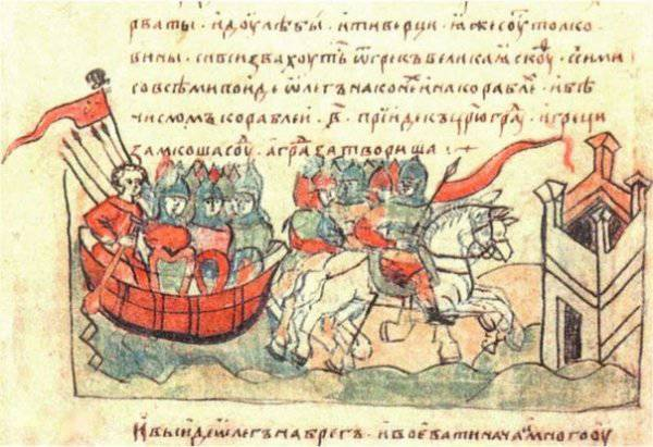 September 2 911 was a treaty of Russia with Byzantium