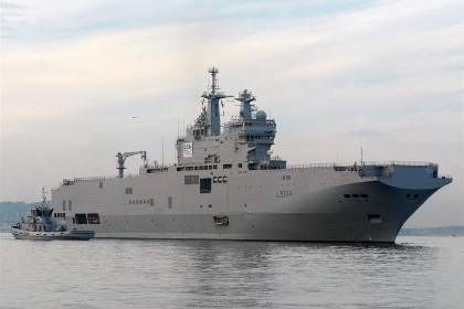 Le premier Mistral russe sera servi à Vladivostok