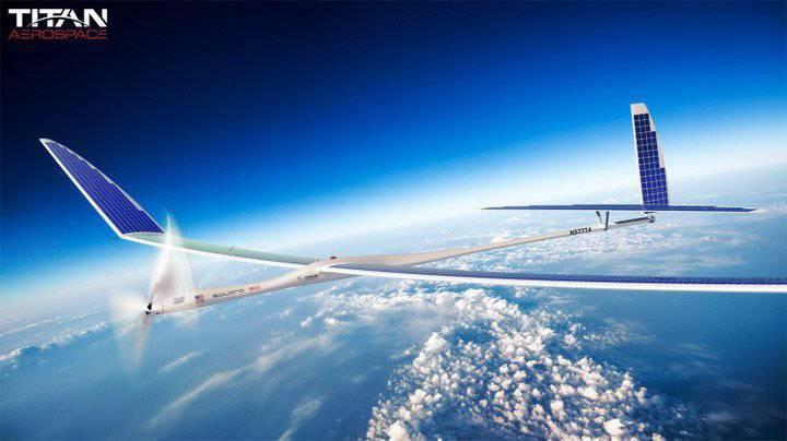 Беспилотник на солнечных батареях может серьезно потеснить спутники