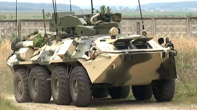 Боевая противодиверсионная машина «Тайфун-М»