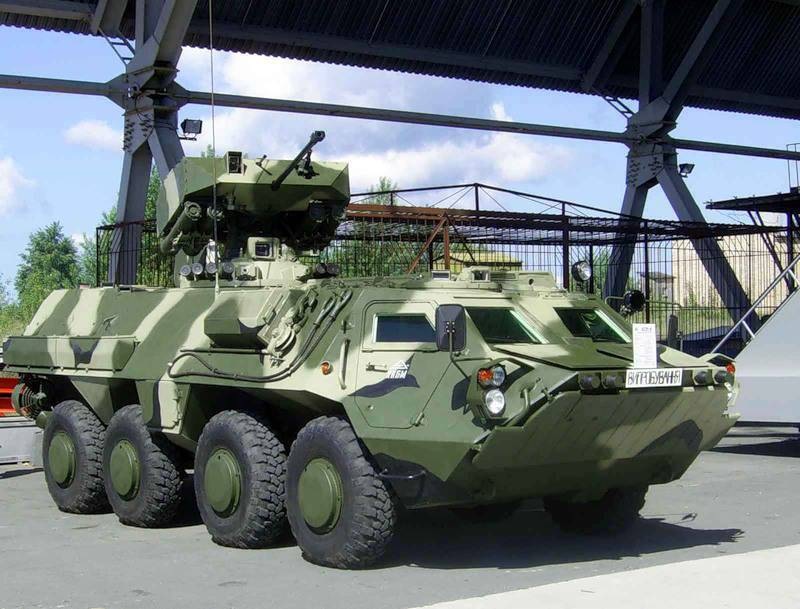 Iraq agreed to accept the next batch of Kharkiv armored personnel carriers