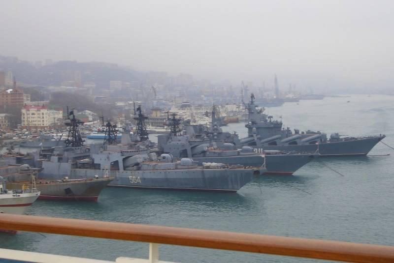 Brevemente sui compiti e le prospettive della flotta del Pacifico