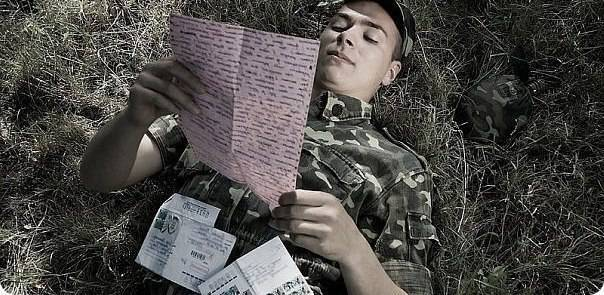 Letters for the soldier