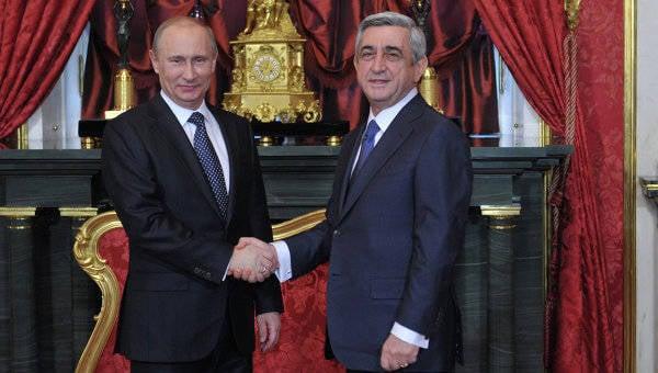 亚美尼亚前往海关和欧亚工会:作出政治决定