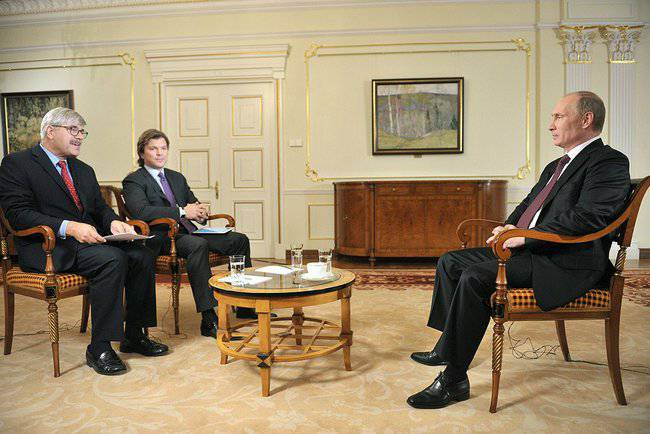 Interview of V. Putin to Channel One and the Associated Press Agency