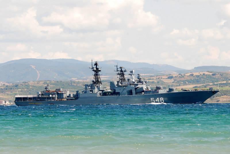 Spedisce il collegamento operativo della Marina nel Mar Mediterraneo