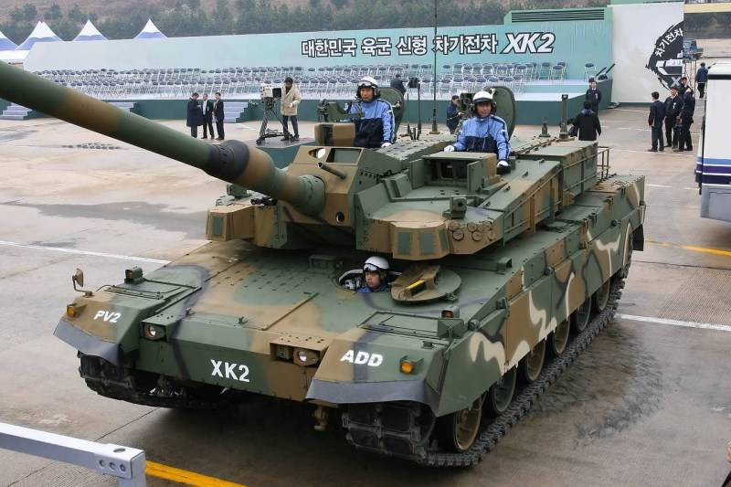 Korea can not modify the tank of its own production