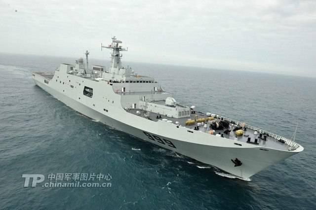 Китай отправил корабли ВМФ НОАК к берегам Сирии