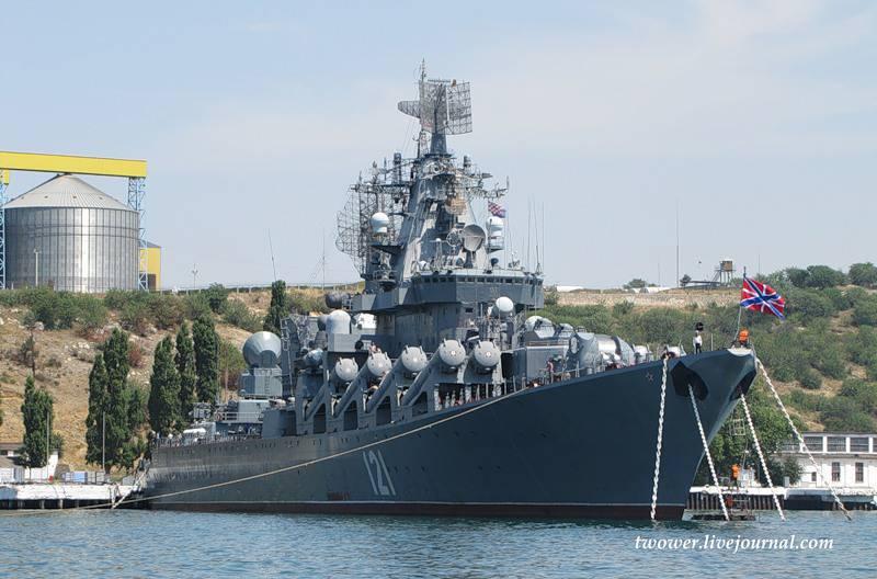 俄罗斯海军的导弹巡洋舰代替佛得角派往地中海