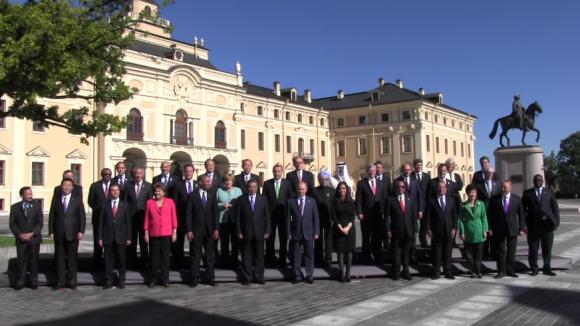 Sommet économique G20 à Saint-Pétersbourg: toutes les armes en attente