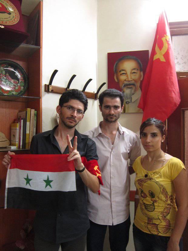 Syrie: Jeunes contre l'agression