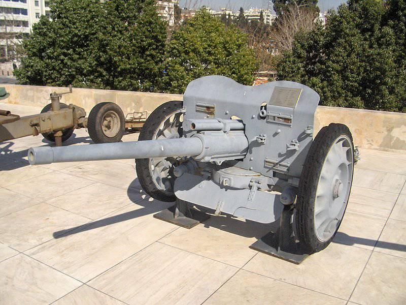 German anti-tank artillery in World War II. Part 1