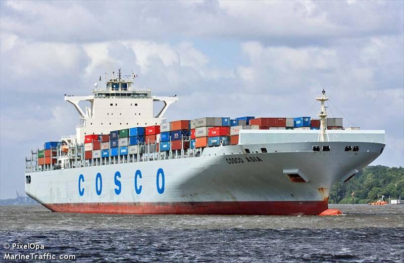 テロリストが中国の貨物船を解雇