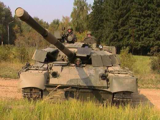 In Russia, modifications were created T-80, which are superior to T-72B3 and T-90A