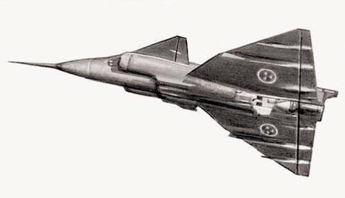 Пример аэродинамической схемы