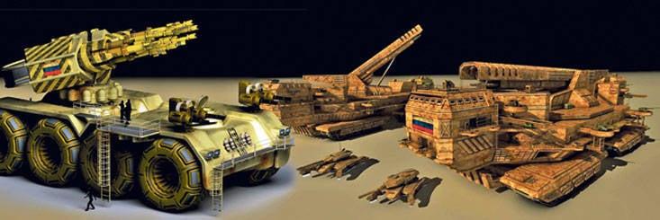 Prospettive per lo sviluppo dell'artiglieria