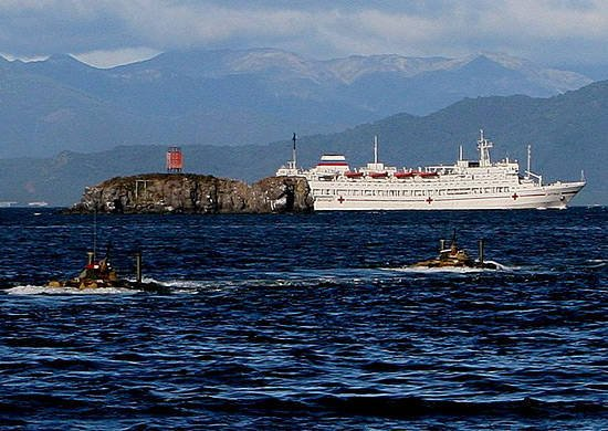 A unique hospital ship arrived in Kamchatka