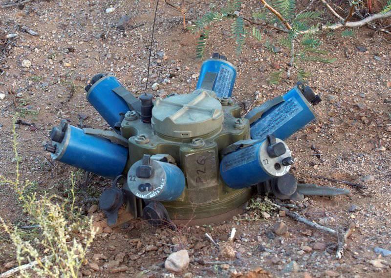 """미국의 스마트 광산 XM-7 """"스파이더"""""""