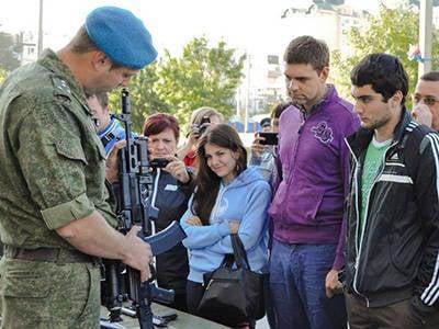"""Cursos """"Bastion"""" são realizadas com base na Divisão Aerotransportada no Distrito Militar Sul"""