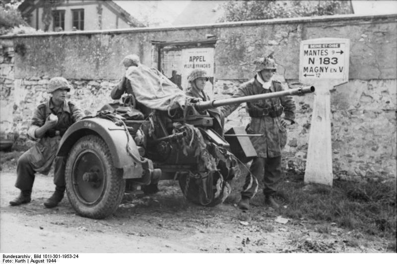 द्वितीय विश्व युद्ध में जर्मनी का छोटा कैलिबर विमानभेदी तोपखाना