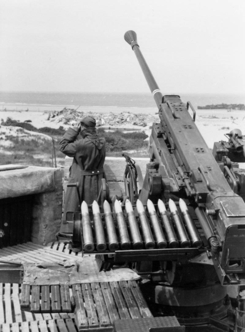 Малокалиберная зенитная артиллерия Германии во Второй мировой войне