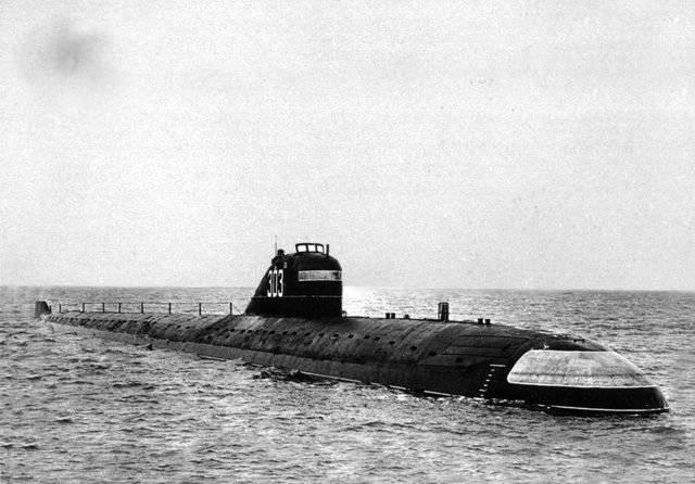 Первая атомная – к3 ленинский