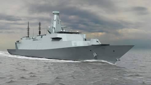 BAE Systems는 새로운 호위함 건설을 위해 주요 계약자를 선정했습니다.
